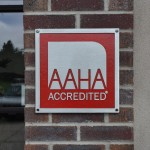 We have been accredited with the American Animal Hospital Association since 2010